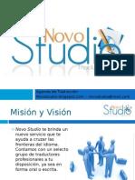 Presentación Novo Studio Traducciones