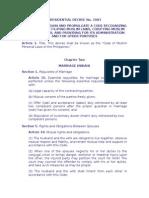 PD 1083 Muslim Code