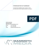 Mammoth Dedicated Server Guide