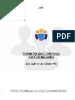 Discipulado - Comunidades ( Instruções para os Líderes )