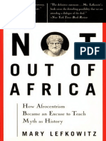 Not out of Africa