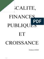 Fiscalite, Finances Publiques Et Croissance Au Senegal
