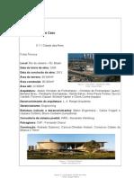 Estudo de Caso - Cidade das Artes RJ
