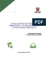 Evaluación de Riesgos Ambiental- Plaguicidas en La Actividad Agrícola