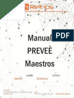 Manual PREVEE Maestros