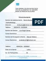 Ficha De Inscripcion Sabor Latino.doc