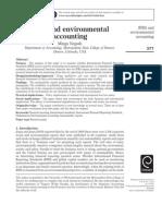 IFRS and Environmental Accounting