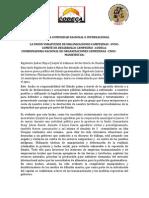 Capturan Rigoberto Juarez y Domingo Baltazar Autoridades Ancestrales del Gobierno Plurinacional