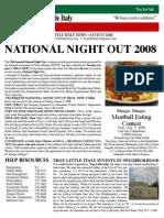 august 08newsletter