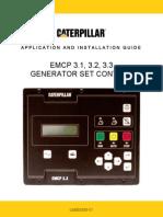 Emcp Generator Set Control Panel - Application & Installation Guide - Lebe5255