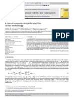 Computational Statistics _ Data Analysis Volume Issue 2013 [Doi 10.1016_j.csda.2013.03.010] Georgiou, Stelios D.; Stylianou, Stella; Aggarwal, Manohar -- A Class of Composite Designs for Response Su