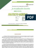 Proyecto General Jornadas Enero2010 d