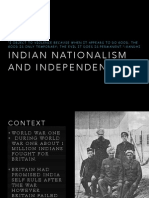 india:gandhi nationalism