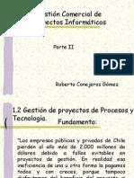 Gestión Comercial de Proyectos Informáticos Parte II