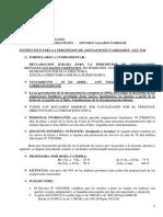 Instructivo Para La Percepcion de Asignaciones Familiares - LEY 5136