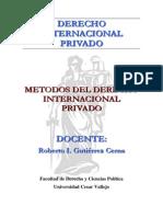 Metodos Del Derecho Internacional Privado