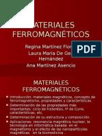 Mat Ferromag Regina Laura Ana
