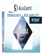Ops a La Carte Tribology and Reliability Webinar 2012 03 07