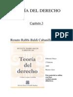 TEORIA DEL DERECHO - Rabbi Baldi 2009 Cap3