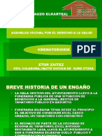 Presentación ASAMBLEA VECINAL