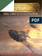 War Over Zephyrus Campaign Booklet