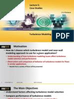 Fluent-Adv Turbulence 15.0 L05 Case Studies
