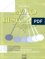 Rüsen, Jörn. Razão Histórica. Teoria Da História