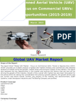Global Unmanned Aerial Vehicle (UAV) Market – Focus on Commercial UAVs