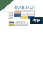 horario 2015-1B