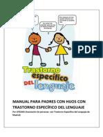 Manual Para Familias Con Hijos Con t.e.l.
