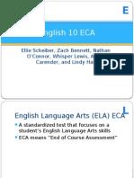 english 10 eca