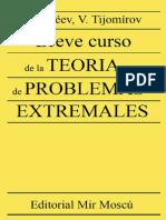 Breve Curso de La Teoria de Problemas Extremales GALEEV