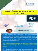 Impacto de Nutricion en Educacion