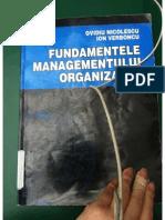 Ovidiu, Nicolescu- Fundamentele Managementului Organizatiei
