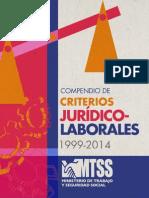 Compendio Criterios Jurídicos-Laborales MTSS 2015