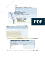 Criar Classe de Avaliação SAP-CO