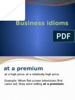 Business Idioms