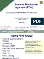 TAB v - Using FDM [Slides]