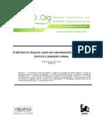 Lima - 2005 - O metodo de pesquisa ação nas organizações.PDF