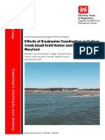 Effect of BW Construction on Small Craft Harbor&Estuary