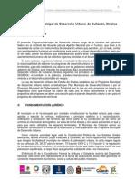 Formulacion Del Proyecto Del PMOT Culiacan