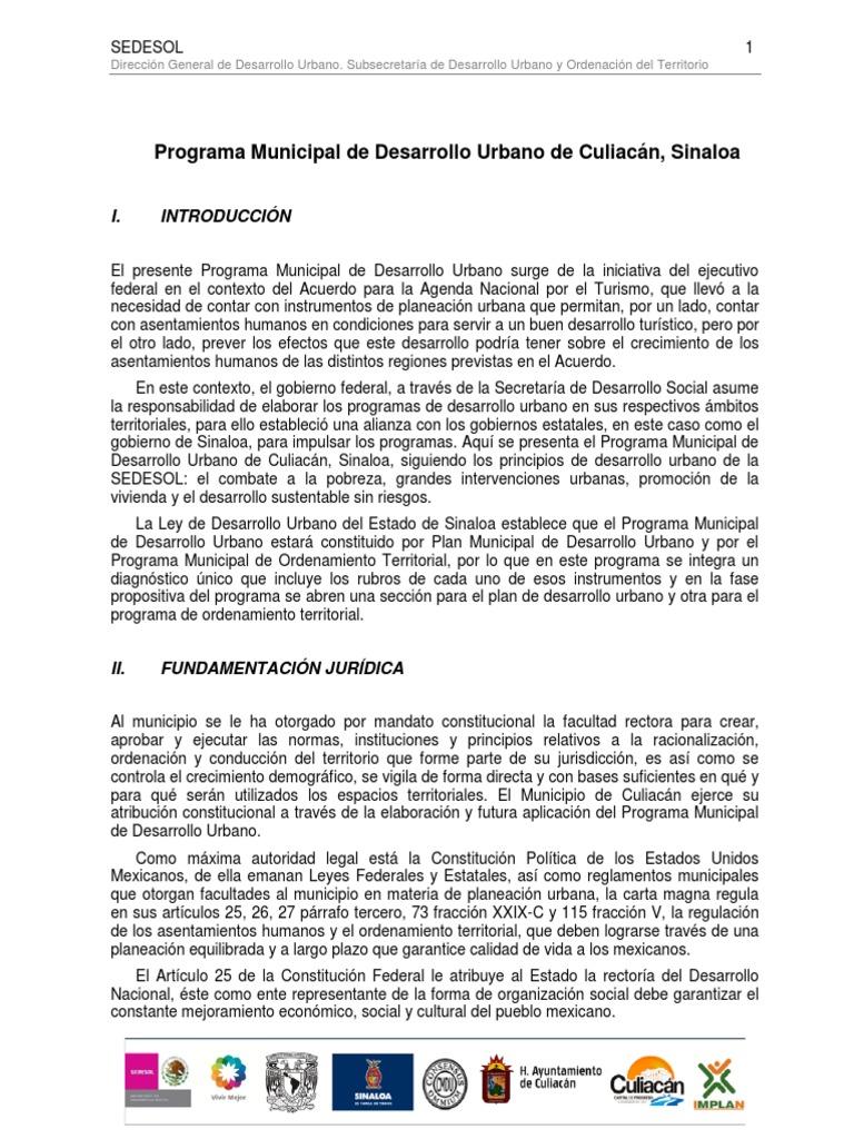 Formulacion Del Proyecto Del PMOT Culiacan c01f17ebc4320
