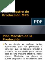 4.0 Plan Maestro de La Produccion