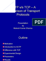SCTP Vs TCP