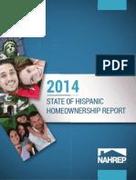 2014 State of Hispanic Homeownership Report