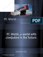 pc world presentation