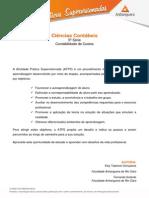 Administração 5º Smestre Contabilidade Custo(2)