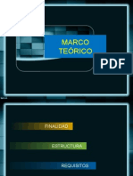 Características del Marco Teórico