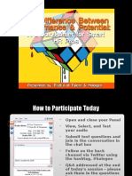 FOT Webinar - The Difference Between Performance and Potential