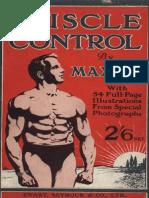 Maxick - Muscle Control